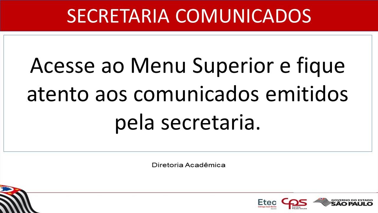 COMUNICADO-SECRETARIA